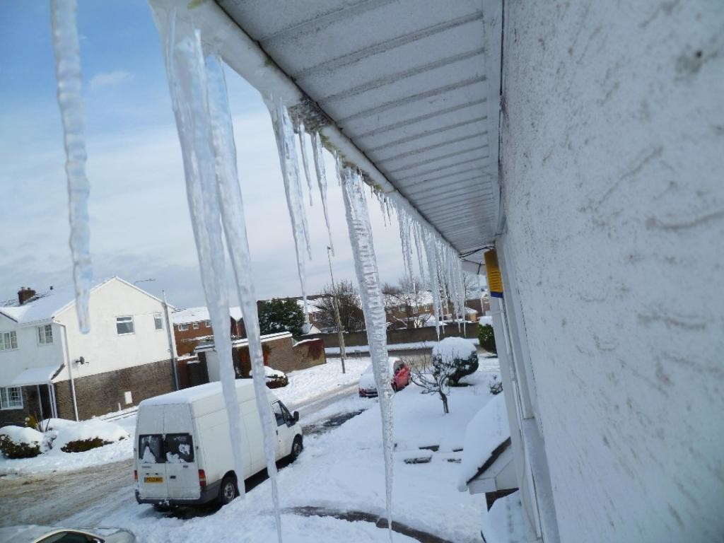 Our Icicles keep growing!