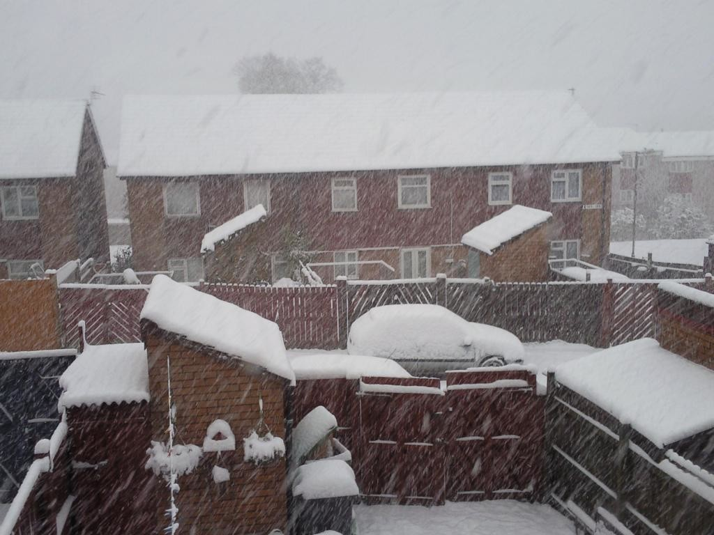Very heavy snow!