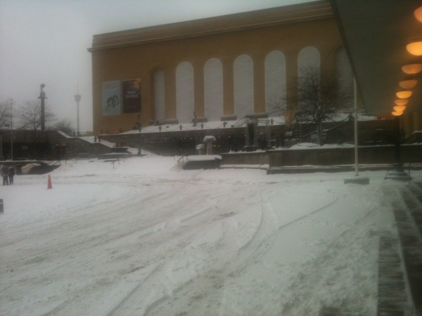 Gothenburg snow