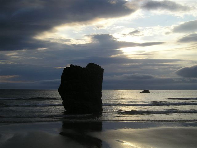Early morning at Durness beach