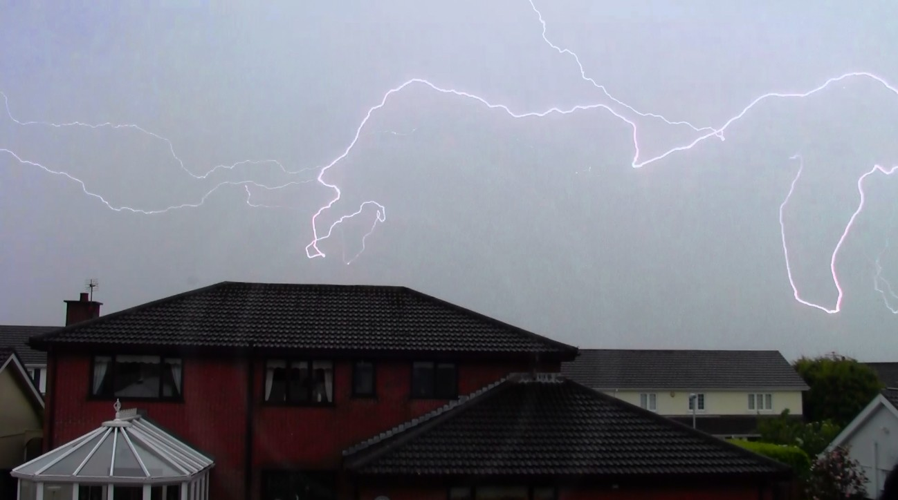 Thunderstorm 19th of May 2014