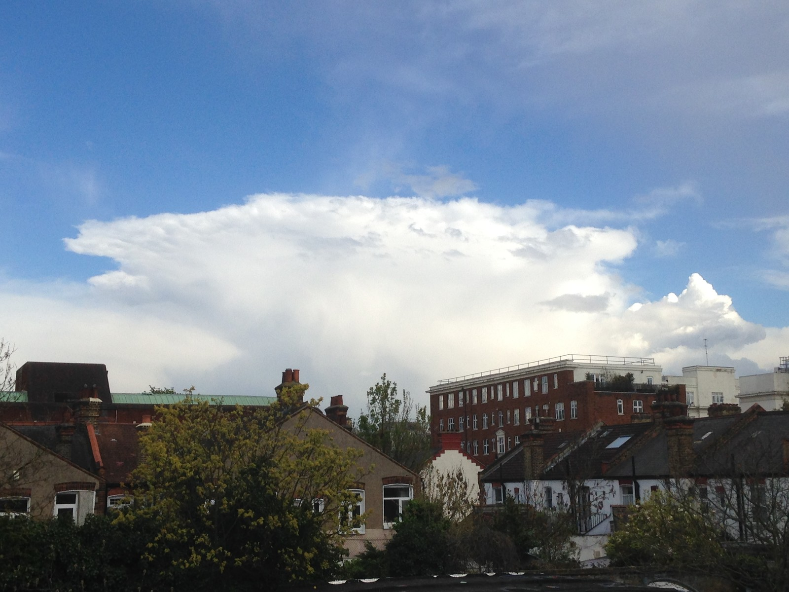 Cumulonimbus Over Brixton April 2016 Pic 3