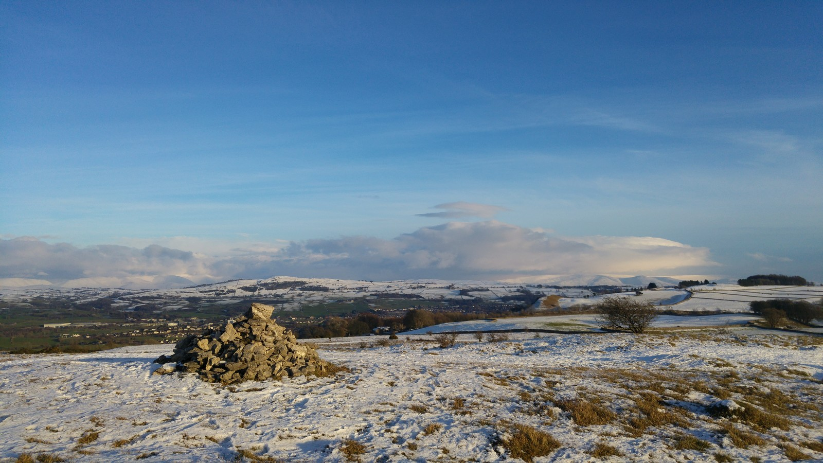 Snow above Kendal 1st Feb 2019