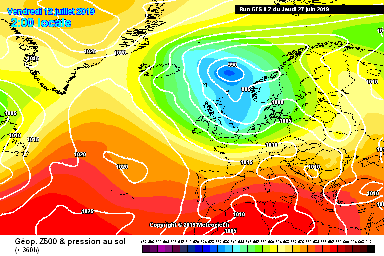 Possibly Severe Heat Wave Looming For 25th To 29th June