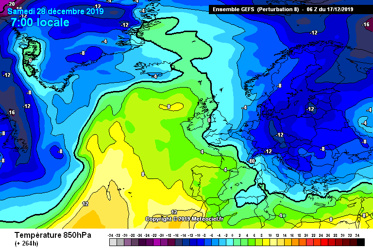 Model Output Discussion Into Christmas Weather